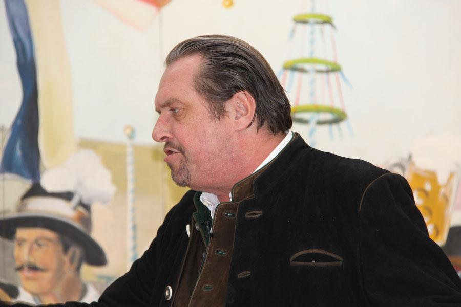 Andreas Giebel ist unter anderem mit dem Kabarettpreis der Stadt München ausgezeichnet. (Foto: Nina Eichinger)
